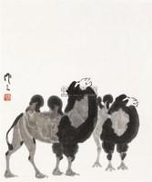 骆驼 镜心 纸本水墨 - 吴作人 - 中国当代书画 - 2010秋季艺术品拍卖会 -中国收藏网