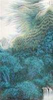 山水 立轴 纸本 - 2605 - 中国书画 - 2010年秋季书画专场拍卖会 -收藏网