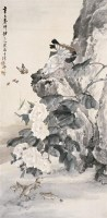 柳  滨(1887~1945)  满园春色图 -  - 中国书画海上画派作品 - 2005年首届大型拍卖会 -收藏网