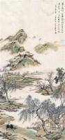 江村逸趣 立轴 设色纸本 - 袁培基 - 近现代书画 - 2006夏季书画艺术品拍卖会 -收藏网