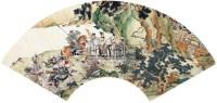 隆中三顾 扇面 纸本 - 徐操 - 扇面小品 - 2010秋季艺术品拍卖会 -收藏网
