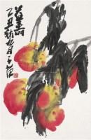 益寿 镜心 设色纸本 - 崔子范 - 中国书画(一) - 2010年秋季艺术品拍卖会 -收藏网