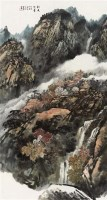均天梵云 镜框 设色纸本 - 20759 - 中国书画(二) - 2010年秋季艺术品拍卖会 -收藏网