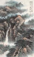 俞子才 壬戌(1982年)作 深山松云图 轴 设色纸本 - 俞子才 - 中国近现代书画 - 2006艺术品拍卖会 -收藏网