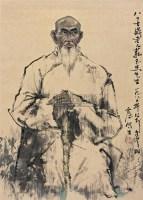 人物 立轴 纸本 - 10428 - 中国书画(下) - 2010瑞秋艺术品拍卖会 -收藏网