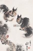 春月 镜心 设色纸本 - 116765 - 中国书画(二) - 2006春季拍卖会 -收藏网