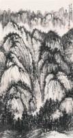 山水 立轴 纸本 - 贺天健 - 中国书画(下) - 2010瑞秋艺术品拍卖会 -收藏网