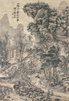 山水 立轴 纸本 - 117081 - 文物公司旧藏暨海外回流 - 2010秋季艺术品拍卖会 -收藏网