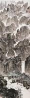 黄山全景图 立轴 设色纸本 - 亚明 - 中国书画一 - 2010秋季艺术品拍卖会 -收藏网