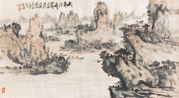 花鸟 设色纸片 - 116678 - 朱恒艺术专题 - 2006年秋季精品拍卖会 -中国收藏网