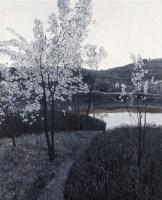 池塘边的小梨树 - 156160 - 油画 - 2010年秋季拍卖会 -收藏网