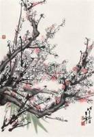 红梅 立轴 设色纸本 - 于希宁 - 中国书画 - 第9期中国艺术品拍卖会 -中国收藏网