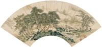 萧  嵋(1883~1944)  山水 -  - 中国书画海上画派作品 - 2005年首届大型拍卖会 -收藏网