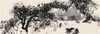 但求娃娃气 镜心 设色纸本 - 4617 - 中国书画二·名家小品及书法专场 - 2010秋季艺术品拍卖会 -收藏网