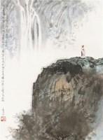 山水人物 立轴 纸本 - 李山 - 中国书画 - 2010秋季艺术品拍卖会 -收藏网