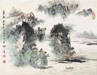 暮春图 镜心 设色纸本 - 陶一清 - 中国书画(二) - 2006春季拍卖会 -中国收藏网
