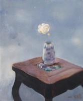 罗发辉 1992年作 瓶花 - 罗发辉 - 西画雕塑(上) - 2006夏季大型艺术品拍卖会 -收藏网