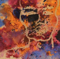 抽象作品 纸本  丙烯 - 赵无极 - 中国油画 - 2006春季拍卖会 -中国收藏网