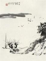 山水 镜心 水墨纸本 - 2538 - 中国书画 - 2010年秋季拍卖会 -收藏网