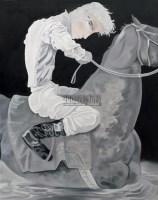 天使系列之二 油彩 画布 - 熊宇 - 油画专场  - 2010秋季艺术品拍卖会 -收藏网