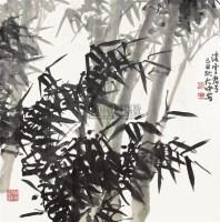 凌云君子 镜心 纸本设色 - 冯大中 - 中国当代书画 - 2010秋季艺术品拍卖会 -中国收藏网