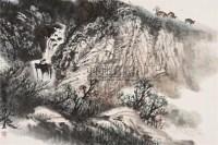 牧归 镜片 设色纸本 - 赵振川 - 中国书画(一) - 2010年秋季艺术品拍卖会 -中国收藏网