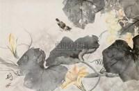 花鸟 立轴 设色纸本 - 高剑父 - 中国书画一 - 2010秋季艺术品拍卖会 -收藏网