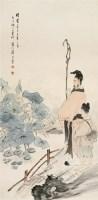 倪  田(1855~1919)  饲马图 -  - 中国书画海上画派作品 - 2005年首届大型拍卖会 -收藏网