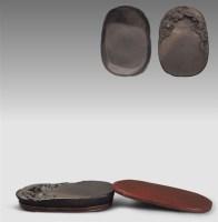 清•坑仔巖雲紋端硯 -  - 文房清玩 历代名砚专场 - 2008年春季拍卖会 -收藏网