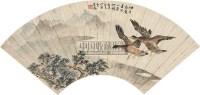 花鸟 扇片 纸本 - 丁宝书 - 中国书画(上) - 2010瑞秋艺术品拍卖会 -收藏网