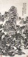 吴待秋山水 设色纸本 镜片 -  - 2011迎春书画大型拍卖会 - 2011迎春书画大型拍卖会 -收藏网