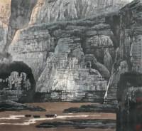 山水 镜心 设色纸本 - 白庚延 - 中国书画(一) - 2006春季拍卖会 -收藏网