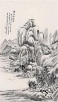 清溪渔艇图 立轴 纸本 -  - 中国书画(下) - 2010瑞秋艺术品拍卖会 -收藏网
