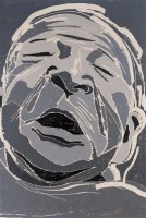 方力钧 2002年作 无题2/25 - 方力钧 - 当代艺术·卓克收藏专场 - 2006夏季大型艺术品拍卖会 -收藏网
