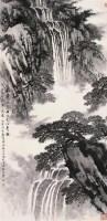 宋文治 匡庐飞瀑图 轴 设色纸本 - 5002 - 中国近现代书画 - 2006艺术品拍卖会 -收藏网