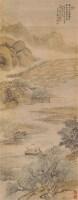 山水 立轴 绢本设色 - 姜筠 - 中国古代书画  - 2010秋季艺术品拍卖会 -收藏网