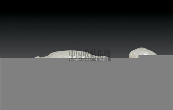 白玉螳螂捕蝉带钩 -  - 中国古代工艺美术 - 2006年度大型经典艺术品拍卖会 -中国收藏网