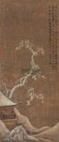 山水 立轴 绢本 - 文嘉 - 中国书画(下) - 2010瑞秋艺术品拍卖会 -收藏网