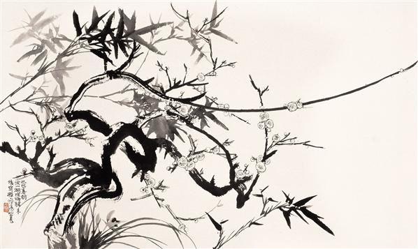 人物 设色纸轴 - 116070 - 近现代名家作品(二)专场 - 2005秋季大型艺术品拍卖会 -收藏网