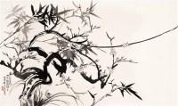人物 设色纸轴 - 张大千 - 近现代名家作品(二)专场 - 2005秋季大型艺术品拍卖会 -收藏网