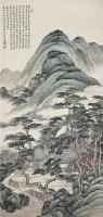 郭蘭祥(1885~1938)松谷幽居圖 -  - 中国书画近现代名家作品专场 - 2008年秋季艺术品拍卖会 -收藏网