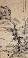 清溪放棹 - 查士标 - 中国书画古代作品 - 2006春季大型艺术品拍卖会 -收藏网