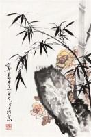 双清 镜心 设色纸本 - 溥佺 - 中国书画专场 - 2010年秋季艺术品拍卖会 -收藏网