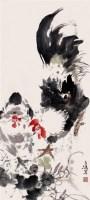 双鸡 - 王雪涛 - 2010上海宏大秋季中国书画拍卖会 - 2010上海宏大秋季中国书画拍卖会 -收藏网