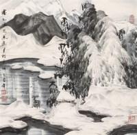 塞外风光 镜心 设色纸本 - 于志学 - 中国书画(二) - 2006春季拍卖会 -中国收藏网