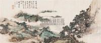 山水 立轴 设色纸本 - 51883 - 书画专场 - 2006年第2期精品拍卖会 -中国收藏网