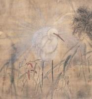 孔雀 镜心 设色纸本 - 江宏伟 - 中国书画 - 第54期书画精品拍卖会 -收藏网