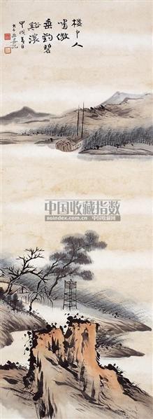 碧溪图 - 116070 - 中国书画近现代名家作品 - 2006春季大型艺术品拍卖会 -收藏网