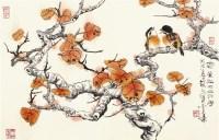 钱行健 花鸟 - 129091 - 中国书画  - 上海青莲阁第一百四十五届书画专场拍卖会 -收藏网
