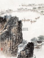 起网 镜心 设色纸本 -  - 中国书画(二) - 2010年秋季艺术品拍卖会 -收藏网